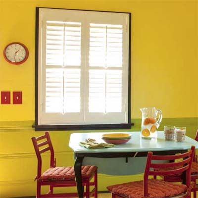 Bold-Color Kitchen Makeover | Bold colors, Window and Kitchens