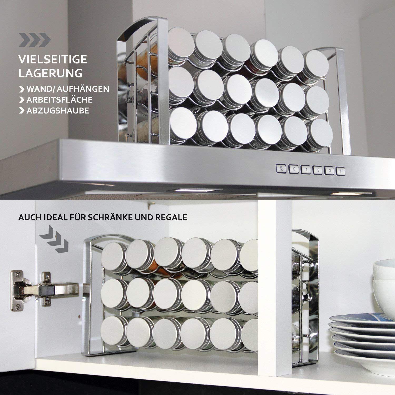 Leander Design Gewurzregal Fur Kuchenschrank Und Arbeitsflache 18
