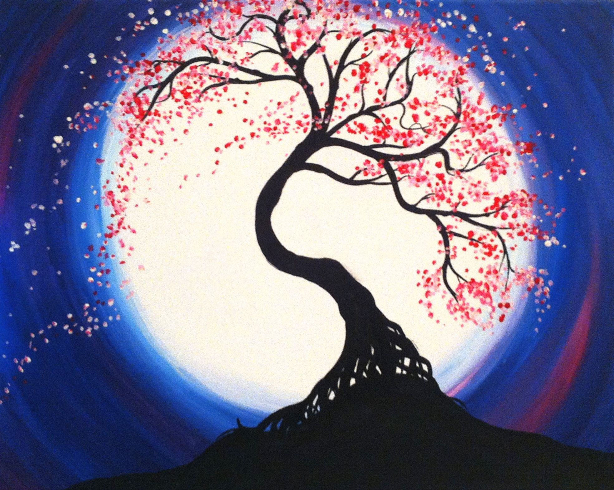 Check Out Moonlit Tree Of Life At Ninos Authentic Italian