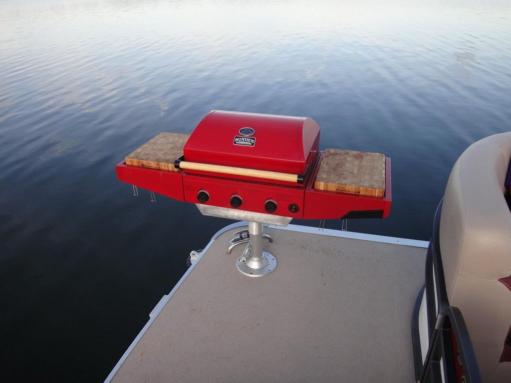 10 Awesome Pontoon Boat Grill Ideas Guide Pinterest Boat Bbq