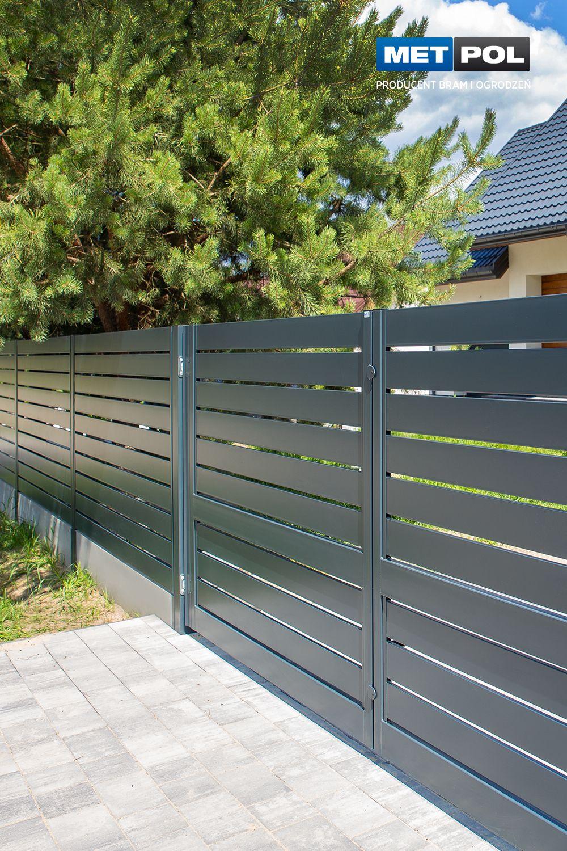 Brama Skrzydlowa Supreme Mk Ii Front Wall Design Wall Design Outdoor Decor