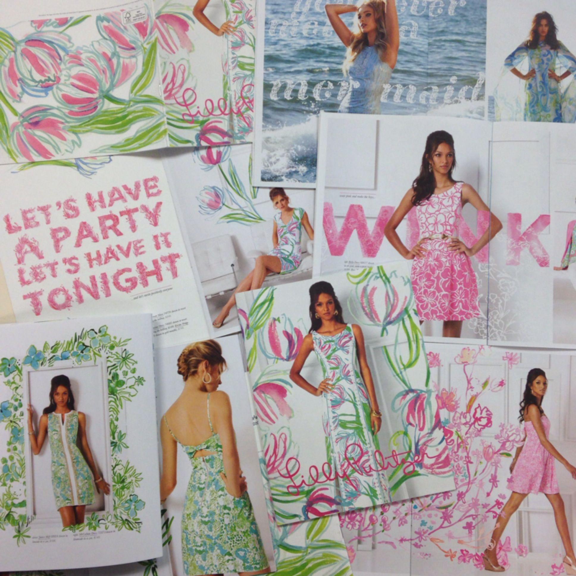 8109cdf755 Lilly Pulitzer Spring 2014 Catalog