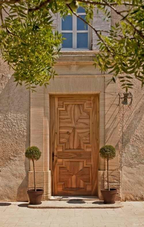 Iu0027m loving this wooden door in Provence. & Pin by MaryAnn Randolph on Doors Galore | Pinterest | Gates