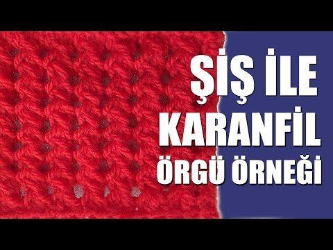 Kolay Çapraz Trabzan Örgü Modeli Yapılışı Anlatımlı Türkçe Videolu