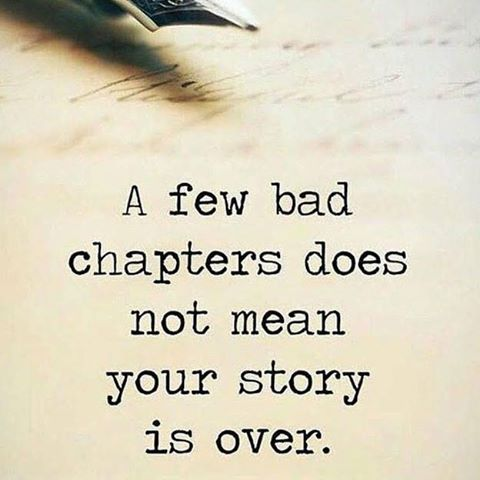 A few bad chapters doesn't mean your story is over! | Forgotten quotes,  Gods love quotes, Love you quotes for him