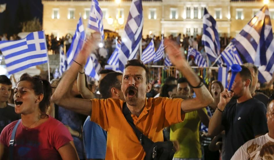 Oxi: Greeks Overwhelmingly Reject Reject Aid Package in Referendum