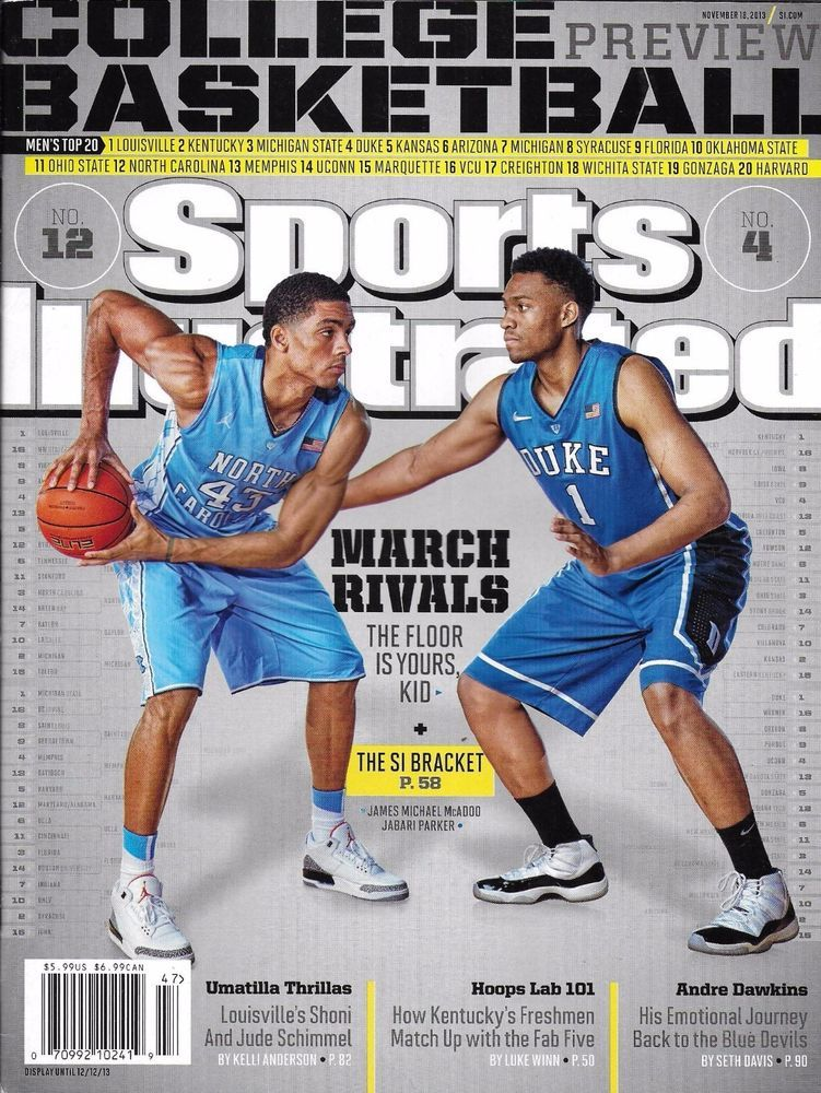 9204d908d35 Sports Illustrated magazine College basketball preview Andre Dawkins Hoops  lab