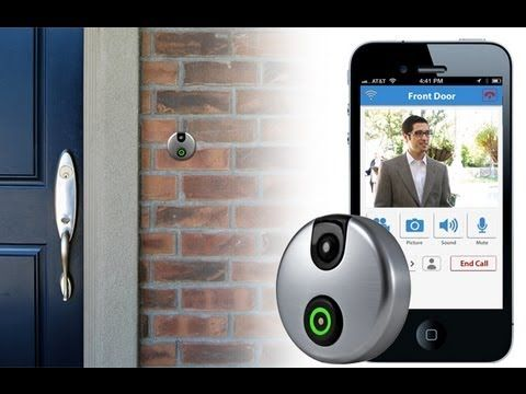 Top Best 11 Gadgets For Home Controlled By Smartphone Doorbell Smart Door Locks Wifi Doorbell