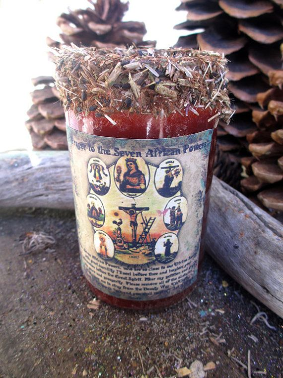Rita's Santeria and 7 African Powers Ritual Hoodoo Candle