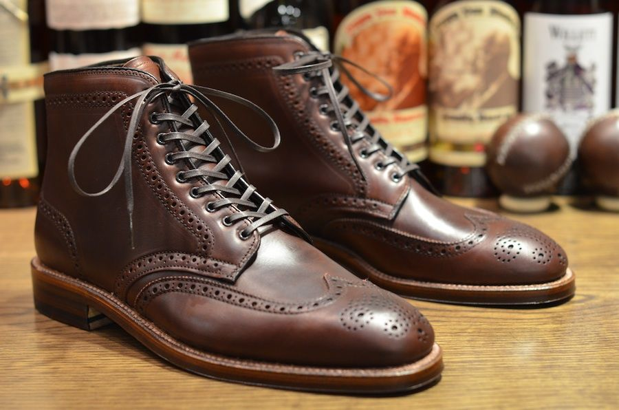 Alden Chromexel Wingtip Boot by Leather Soul Hawaii