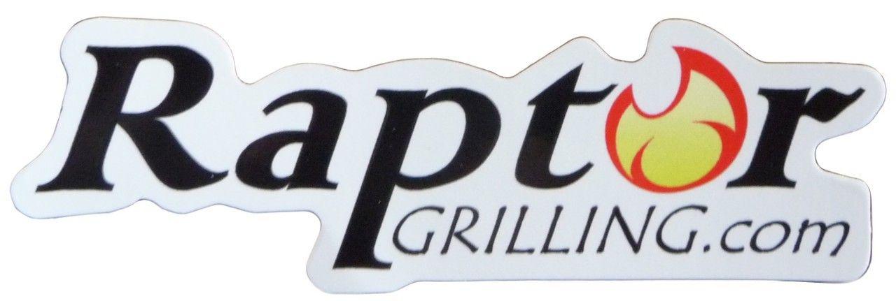 Raptor Grilling sticker