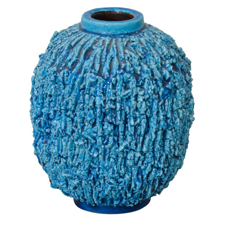 Ceramic Vase By R 246 Rstrand Danish Modern Ceramic Vase