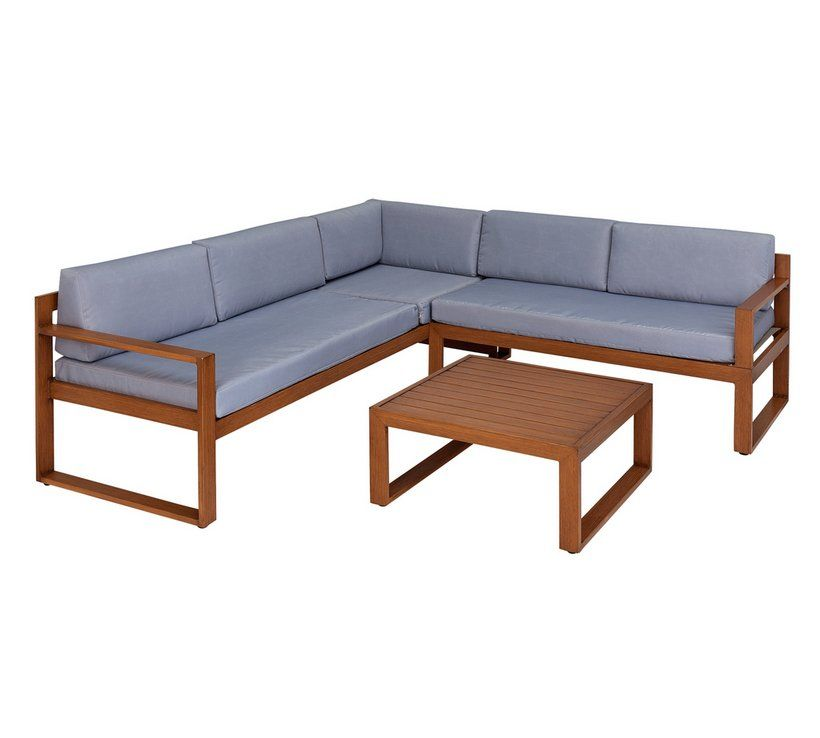 Buy Collection Aluminium 5 Seater Corner Set At Argos Co Uk Your Online Shop For Garden Table And Chair Sets Garden Furn Corner Sofa Set Sofa Set Argos Home