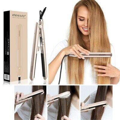 (Ad) ETEREAUTY Professional Hair Straightener Flat Iron Hair Curler US Plug #flatironwaves (Ad) ETEREAUTY Professional Hair Straightener Flat Iron Hair Curler US Plug #flatironwaves