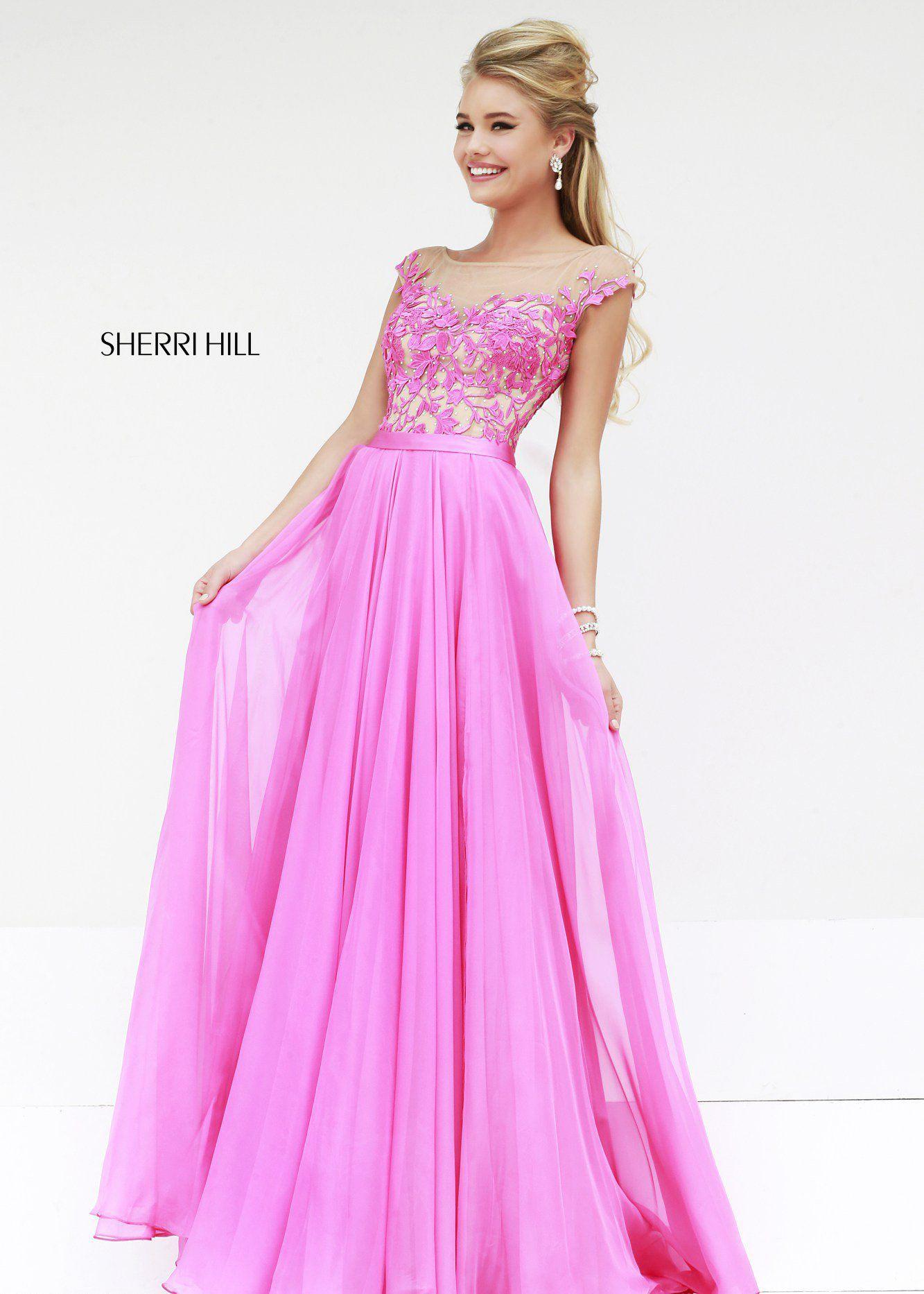 Shop New 2014 Sherri Hill Prom Dresses, find Sherri Hill 11151 pink ...