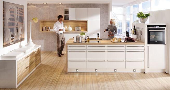 Cocinas blancas de diseño | Kitchens | Pinterest | Cocinas blancas ...