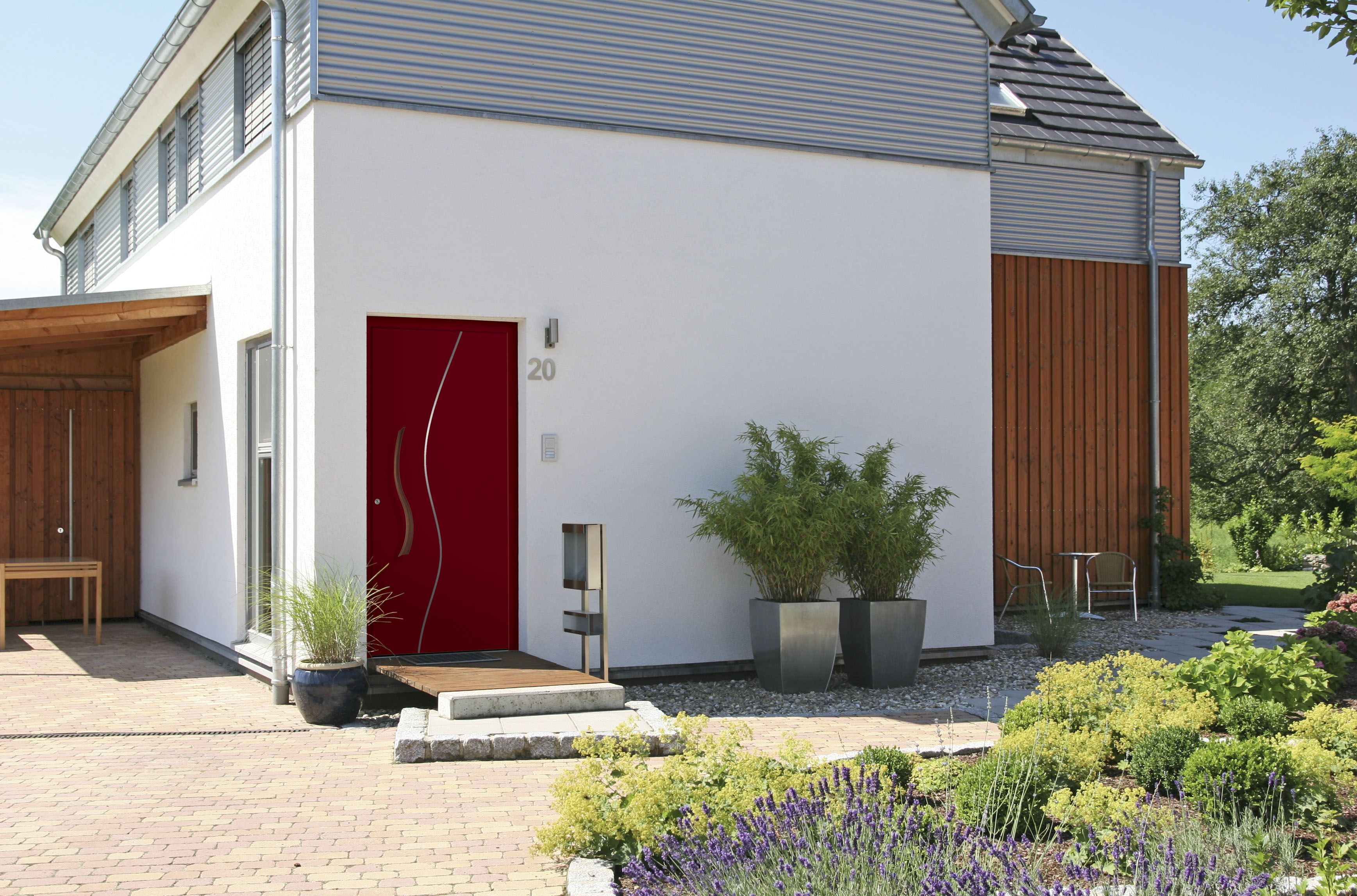 Sympathisch Eingangsüberdachung L Form Referenz Von Türen Von Niedermaier Im