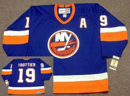 BRYAN TROTTIER New York Islanders 1982 CCM Vintage Throwback NHL Hockey Jersey  Pat Lafontaine d9abf7549