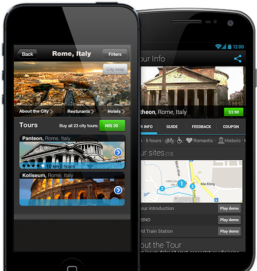 Looking for a Tour guide? Get TourPal, a worldwide, audio