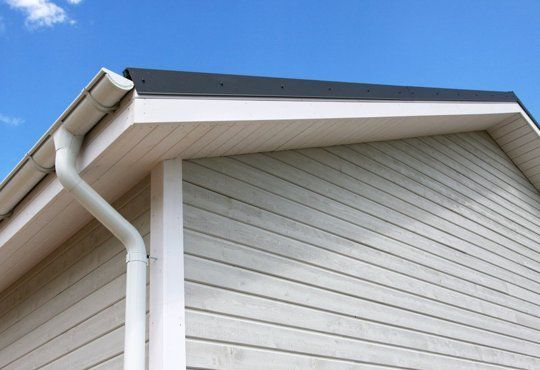 How Much Did It Cost To Replace Or Install Your Rain Gutters Downspouts Rain Gutters Cleaning Gutters Gutters