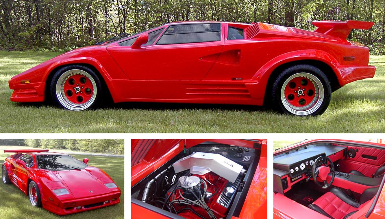 Lamborghini Countach Torch Red kitcar