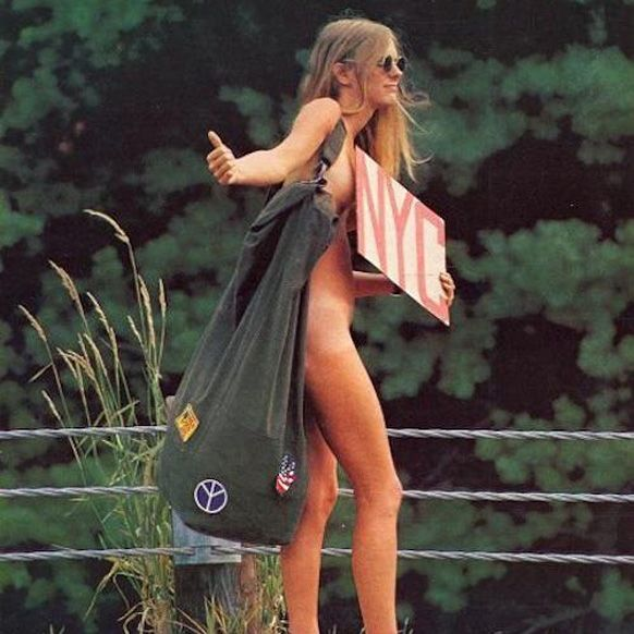 Woman after Woodstock