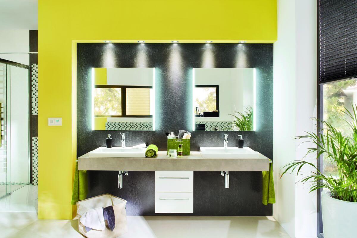 Strahler badezimmer ~ Beleuchtung im badezimmer 💡 punktuelle einbau spots sorgen für