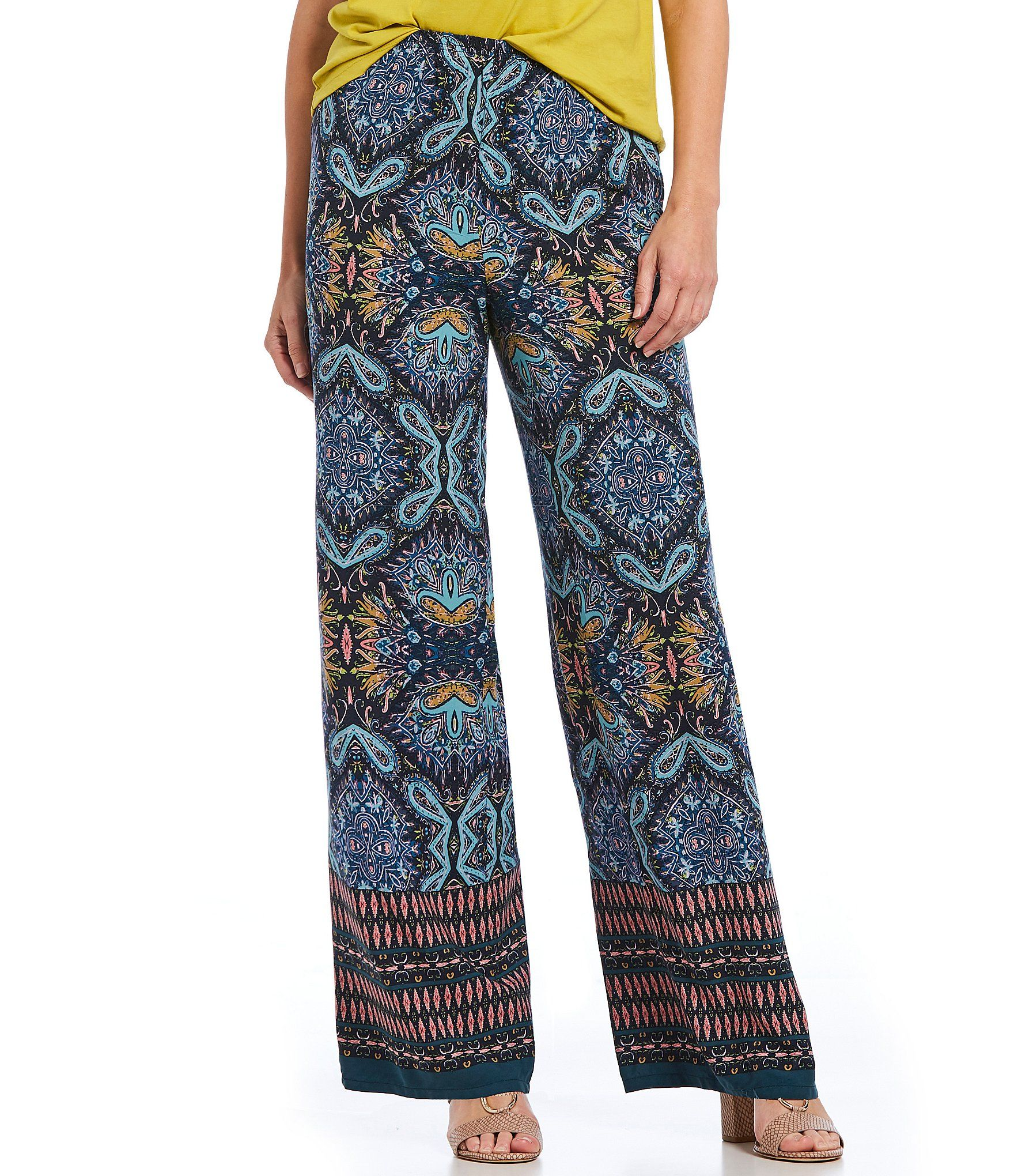 bcbe0b26f6d Shop for Spense Border Print Pull-On Pants at Dillards.com. Visit Dillards.com  to find clothing