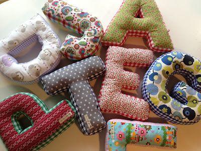 alphabetic pillows...