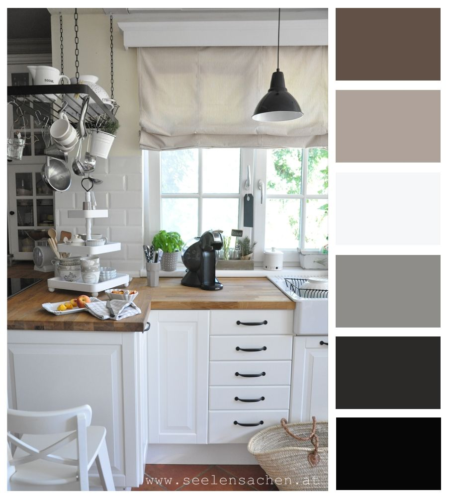 Color Pallete - Kitchen From Seelen Sachen Blog