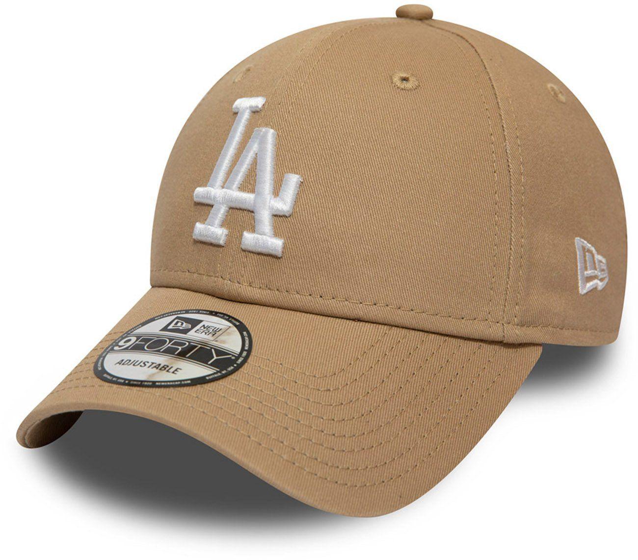 dfa47e42d5dd9c LA Dodgers New Era 940 League Essential Camel Baseball Cap – lovemycap