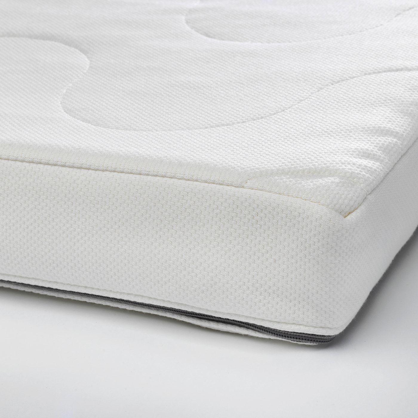 Krummelur Foam Mattress For Crib 27 1 2x52 Ikea In 2020 Mattress Ikea Crib Foam Mattress