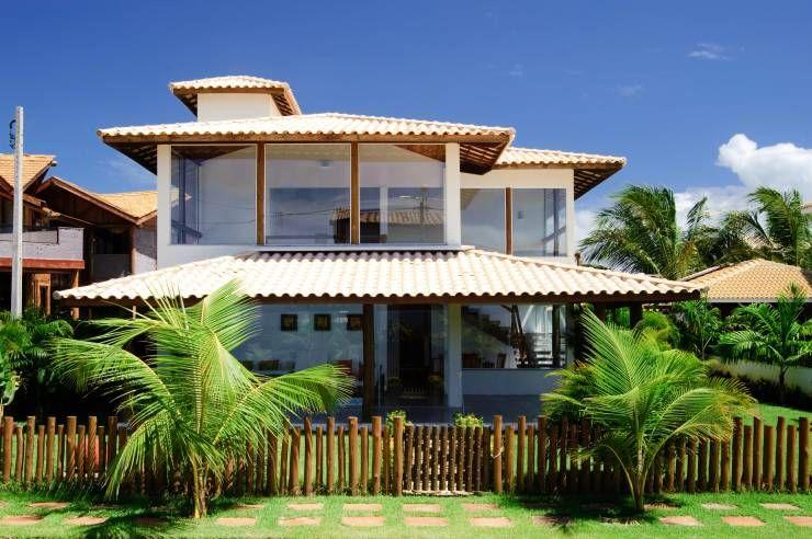 Casas de estilo Tropical por CHASTINET ARQUITETURA URBANISMO ENGENHARIA LTDA