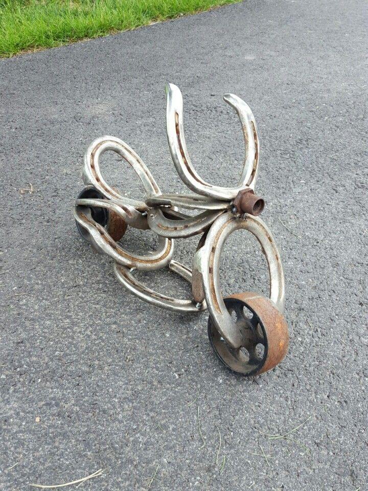 Horseshoe Harley Davidson Welding Art Horseshoe Art Horseshoe