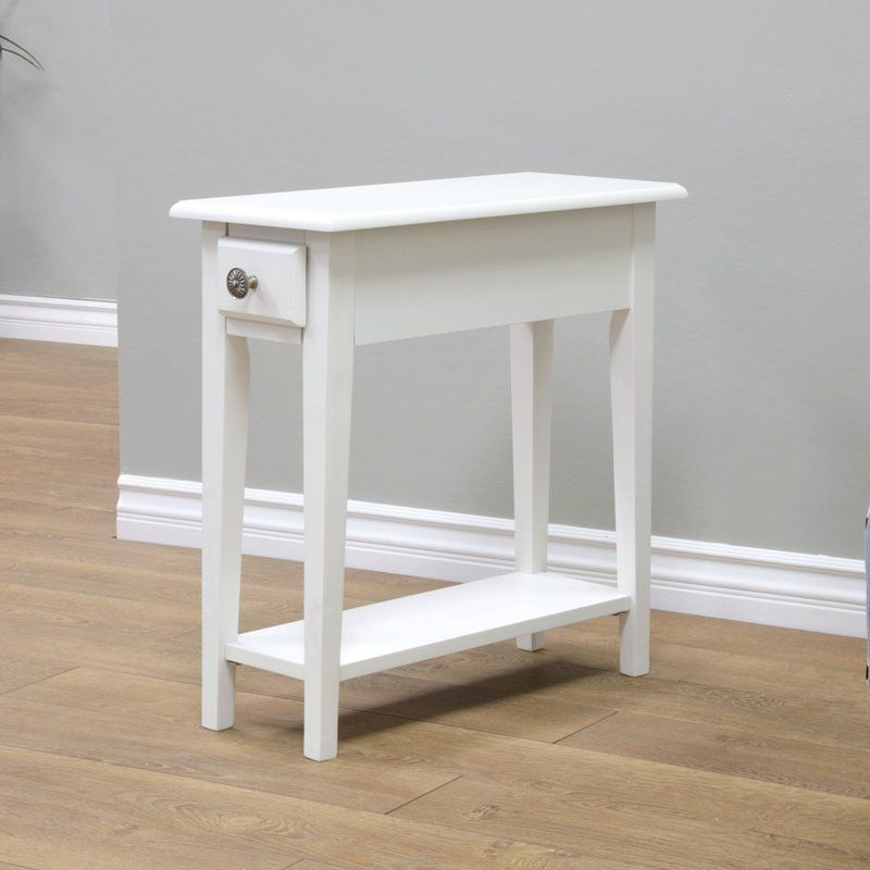 Birch Lane Roopville Chairside Table 10 Wide Bedside Table Small Space Living Room Side Table Ikea Side Table