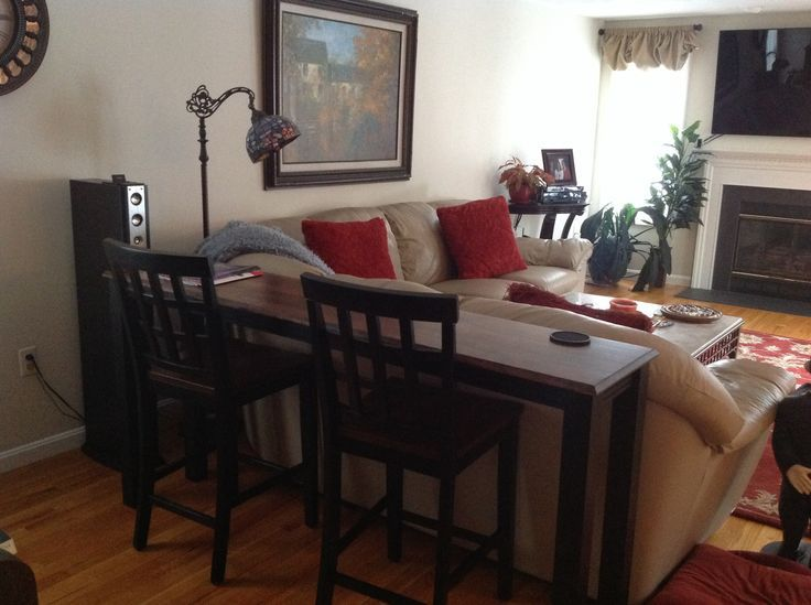 Behind Sofa Bar Height Table | Bar Table Behind Couch