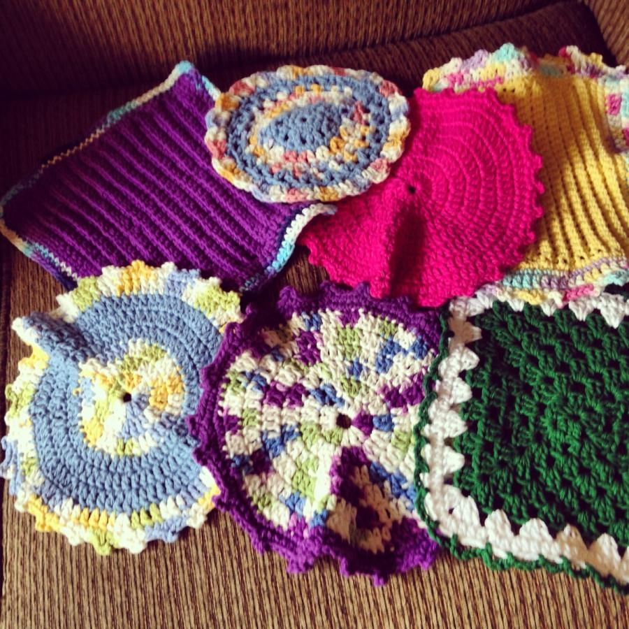 More Dishcloths.... - Crochet creation by Katrn | Projects to Try ...