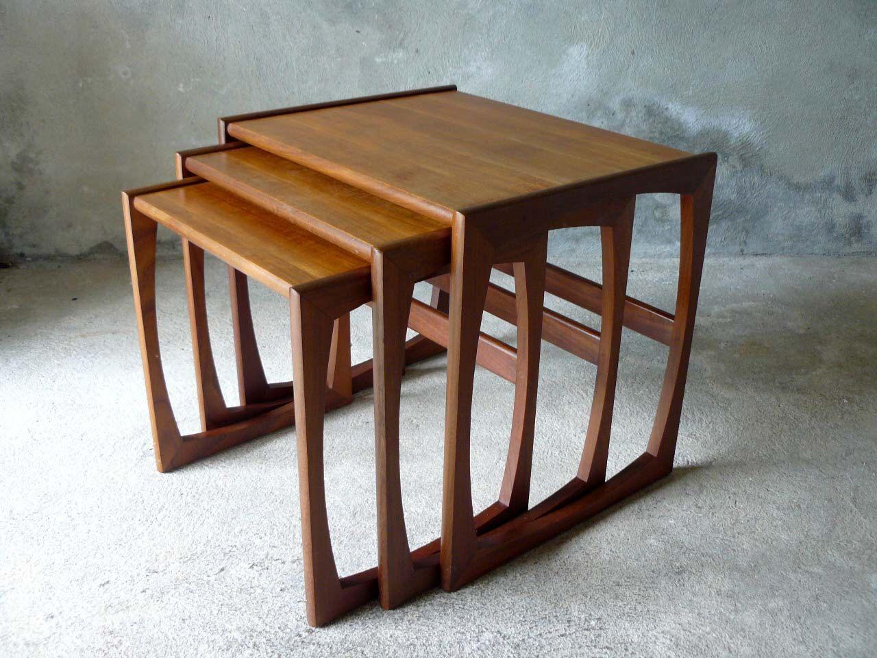 Great Mid Century Danish GPLAN Nest Of Tables