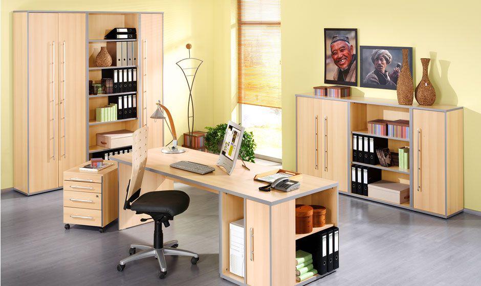 Büromöbel MOXXO Buche-Dekor von Schäfer Shop | Büromöbel MOXXO von ...