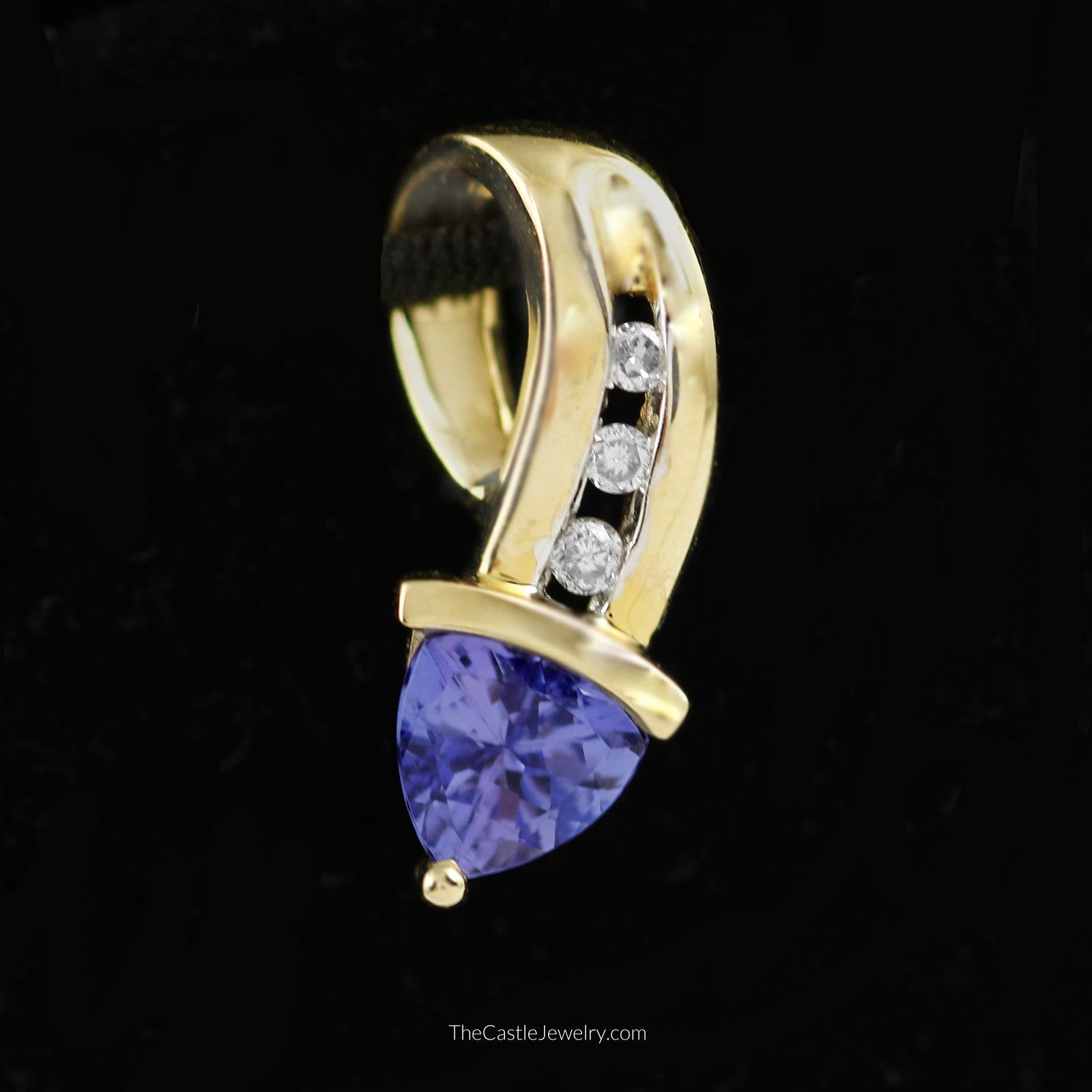 view diamond trillion engagement tanzanite carat richland photo of cut within ring rings paris