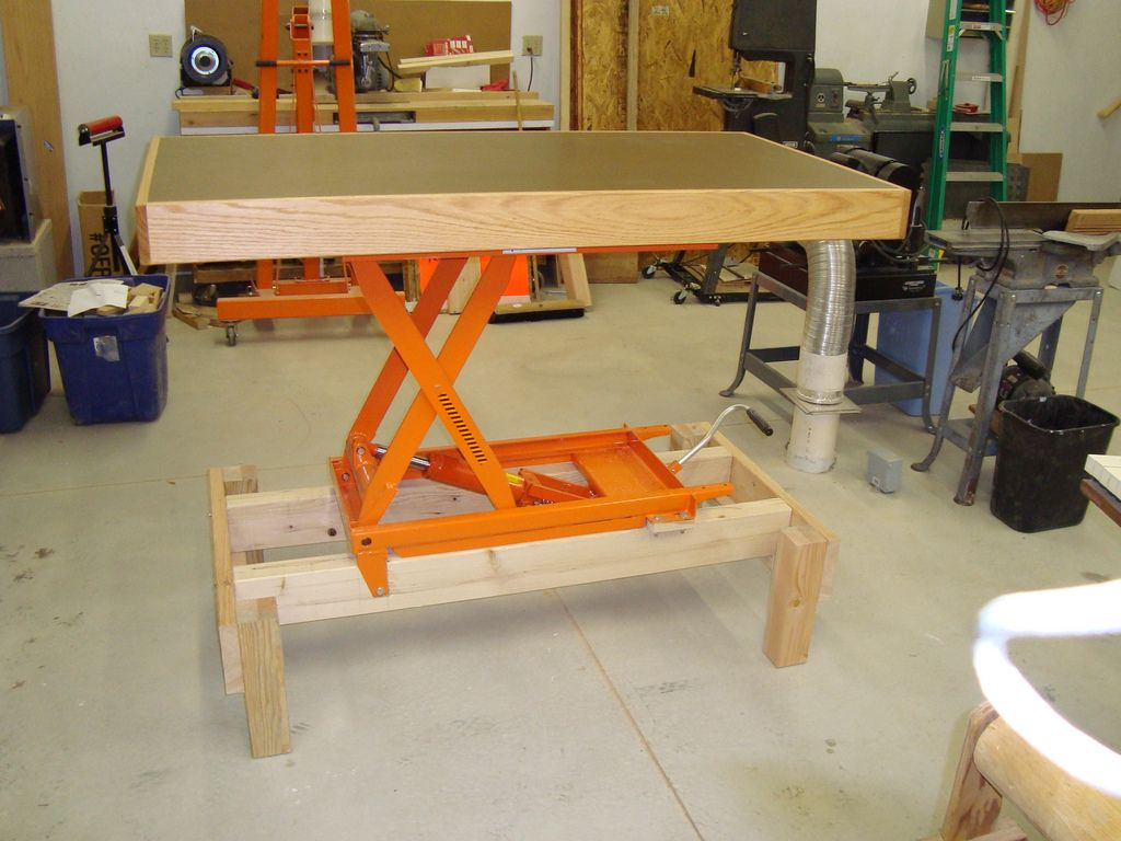 Adjustable Height Workbench And Assembly Table In 2019 1