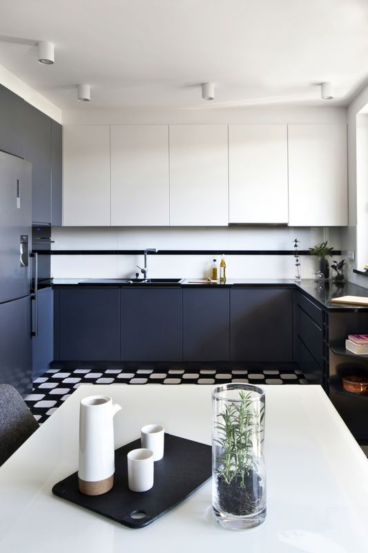 Dwukolorowe Meble Kuchenne Kitchen Pinterest