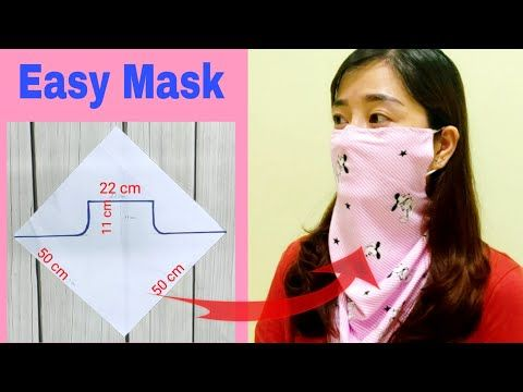 Photo of DIY scarf mask | Step by step easily | ART Thao162