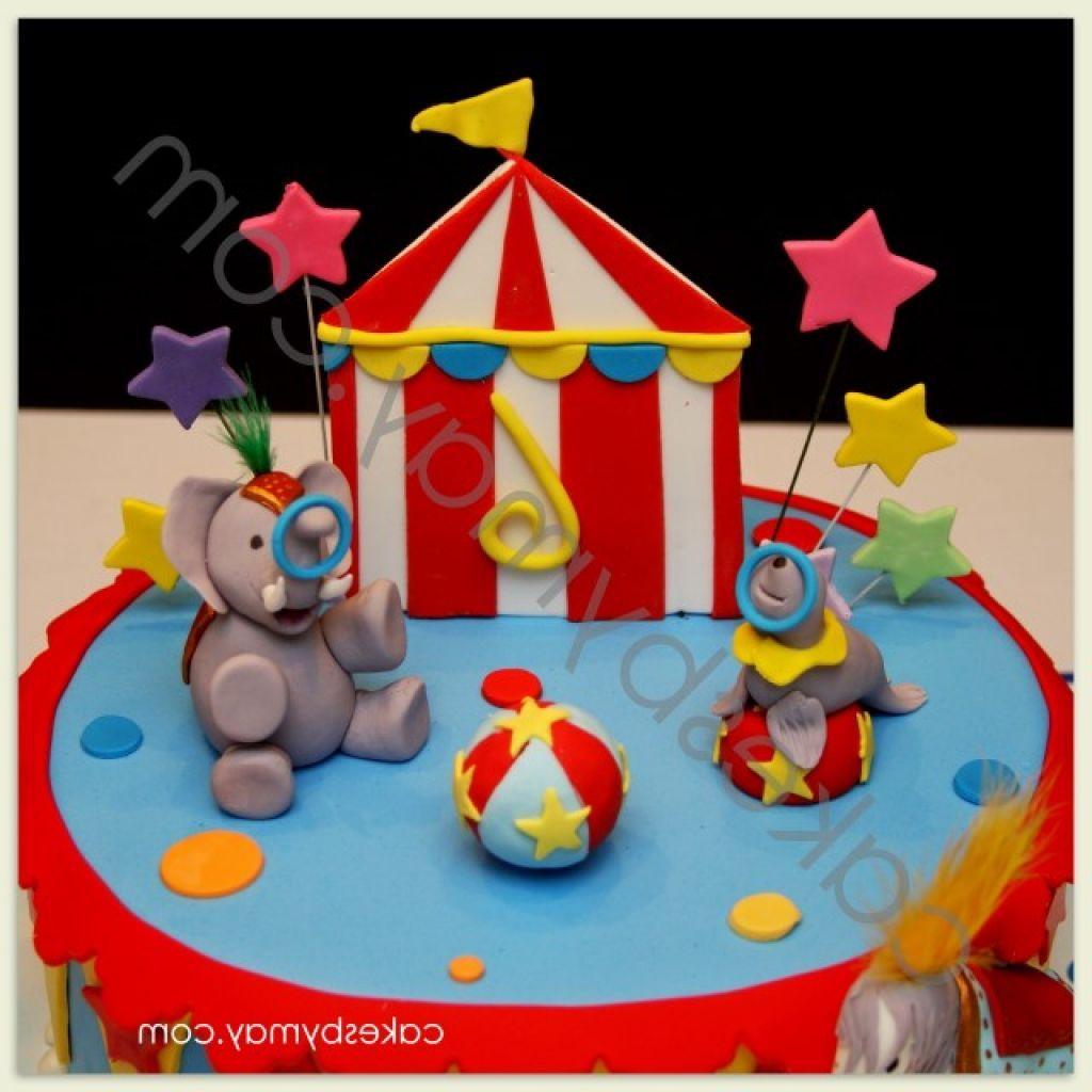 Clown Birthday Cake Ideas for Little Kids big top birthday cake