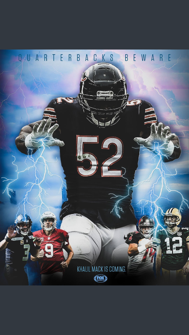 Mack Attack Bears Monster Chicago Bears Football Chicago Bears Super Bowl Bears Football