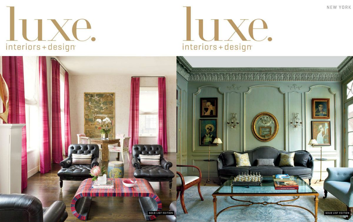 Luxe Magzine Luxe Interiors Design is the essential source for