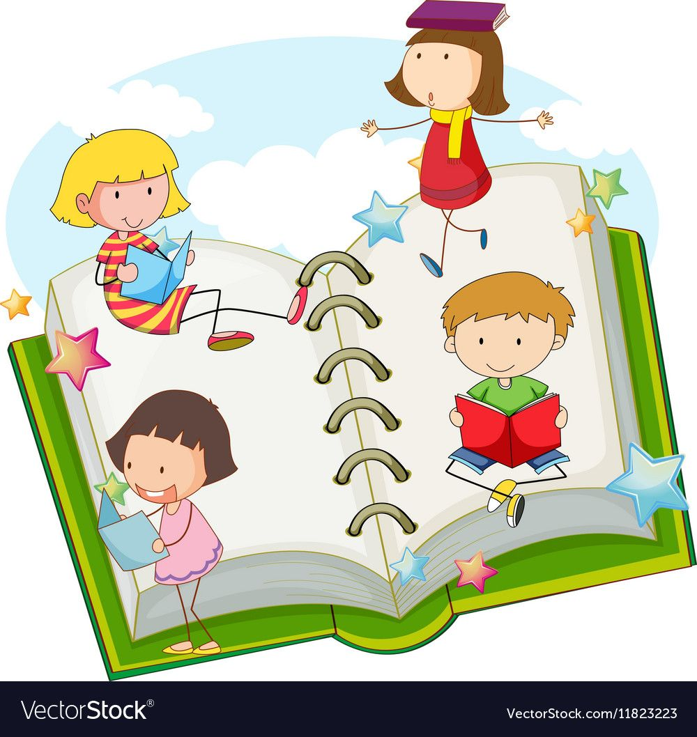 Children reading books together. Download a Free Preview