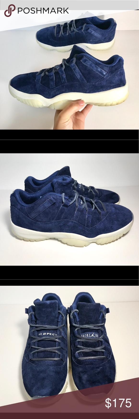 6249f174ff75c0 Nike Air Jordan 11 Low Retro RE2PECT Jeter Size 9.5 in men Excellent  condition No odor