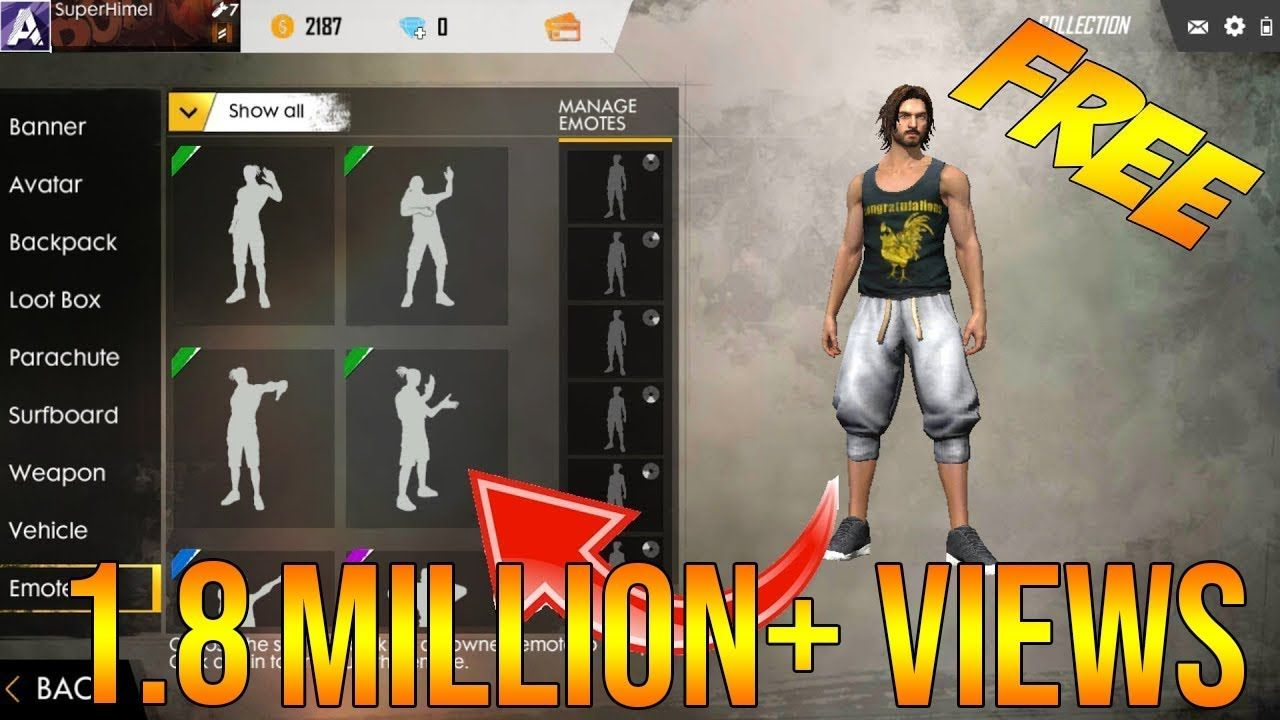Ana Emotes how to unlock all emotes in free fire for free | free, fire