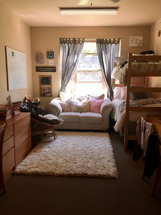 52 Genius Apartment Decor Ideas 11 Gentileforda Com Dorm Room Designs College Dorm Room Decor Dorm Room Inspiration
